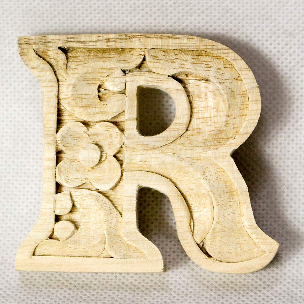 Wooden alphabet letters home decor DIY woodden letters wood carving wooden unfinished wooden letters paint unfinished wall decoration craft silhouette 6cm 9cm 15cm 2.36in 3.54in 5.9in R