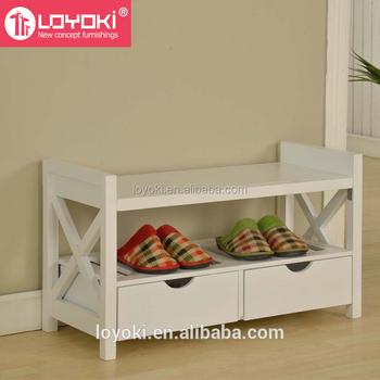 Superbe Environment Wood Corner Shoe Cabinet , Shoe Rack