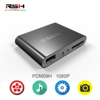 1080P mini HD media player for car, auto pay loop resume function