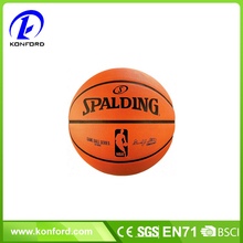 logo printing basketball size 7 on bulk sale rubber basketball