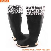 2015 New Style Folding Rubber Rain Boots Low Heel Rain Boots Srb02 ...