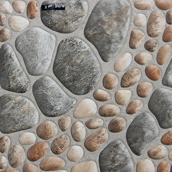 300x300mm Foshan Imitate Pebbles Non Slip Ceramic Floor