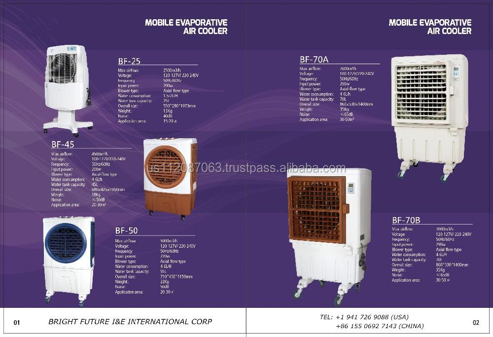 China And Usa Manufacturer Evaporative Air Cooler Portable Ce Ul ...