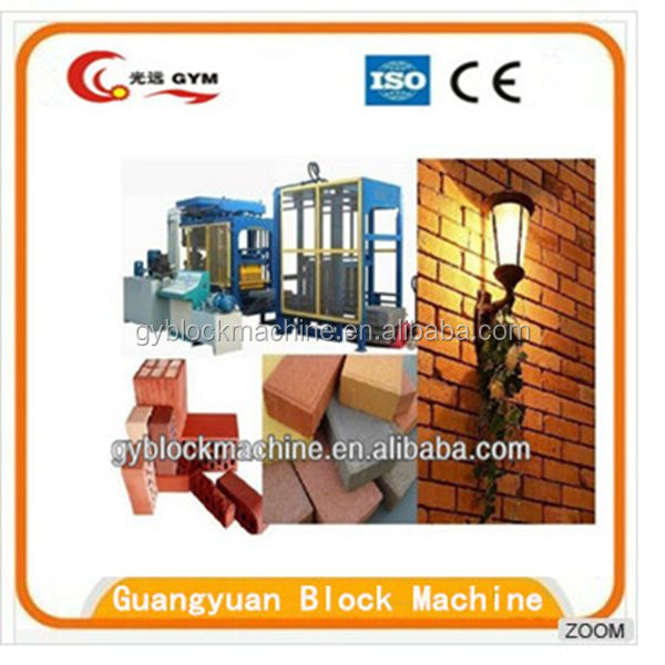 With PLC System QT8-15 Full Automatic Cement Brick Making Machine/Fly Ash Brick Making Machine