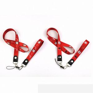 Factory Price Custom Design Logo Cotton Materials Pu Leather Hand Wrist Strap Lanyard