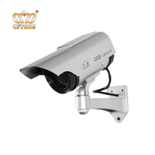 New Solar Powered Dummy IR Security Camera / Fake Bullet Camera System
