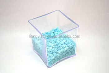 High Quality Clear Acrylic Cube Vase Whole Supplier With Factory