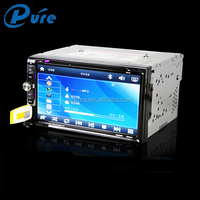 Touch Screen Car DVD Player 2 Din DVD Player Bluetooth Speaker CD/DVD Player with FM