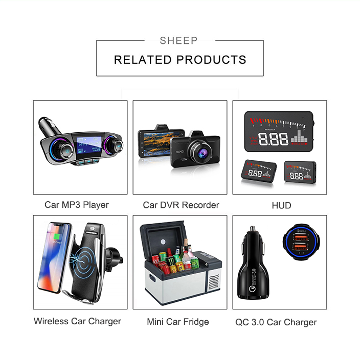 Tinderala 最高価格【送料無料】 qc 3.0 音楽車の mp3 プレーヤーのための米国市場