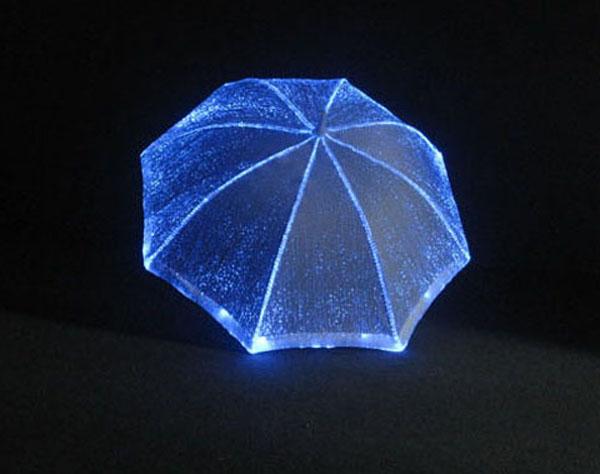 Wholesale Cheap Umbrellas Colorful Fancy Led Umbrella