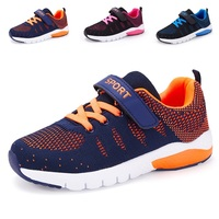 New Models Mesh Buckle Strap Fashion Children School Casual Sport Running Sneakers Shoes