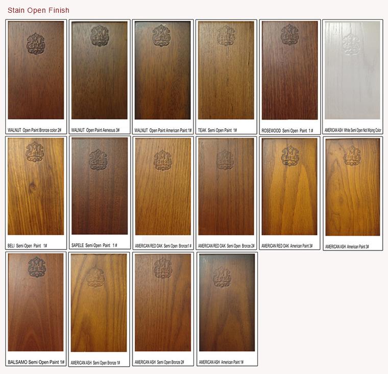Nigeria Main Entrance Narra Wood Door Design