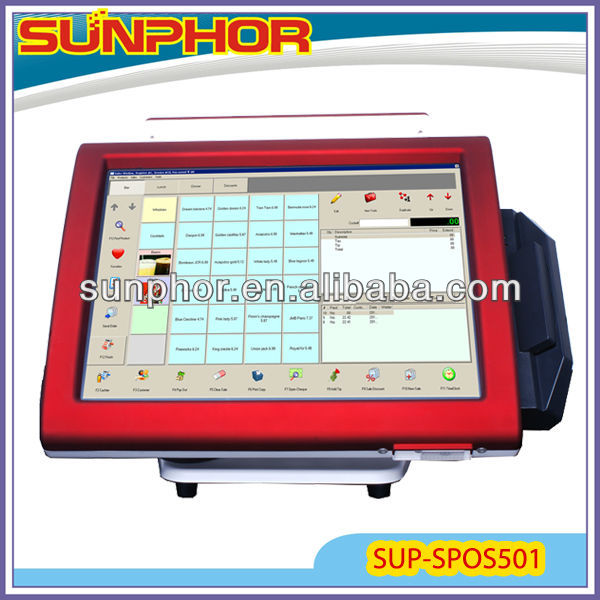 touch screen computer pos compatible Window OS (24 months warranty-factory price)