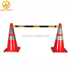 Plastic Extendable Road Cone Barrier Pole for Traffic Cone