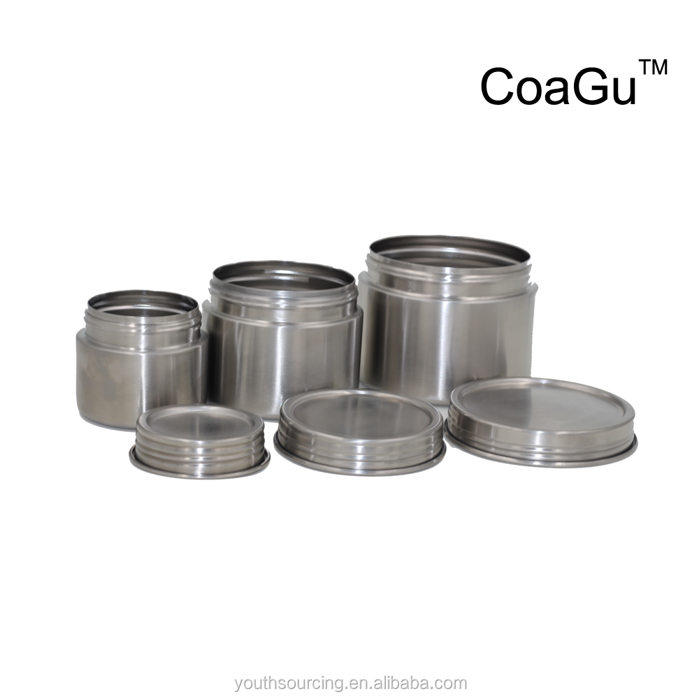 CoaGu metal food warmer container stainless steel food canister lunch box