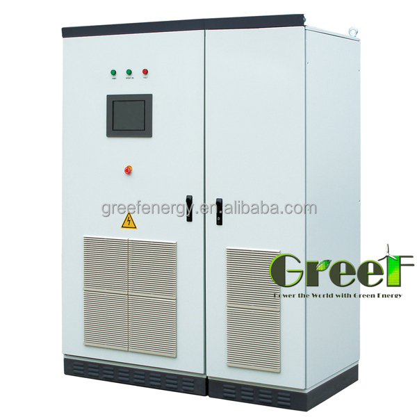 Hot Product ! Three Phase 500KW grid tied inverter connect with Country Grid for hydro project