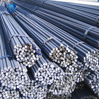 Good Price On HRB335 / HRB400 / HRB500 Hot Rolled Deformed Steel bar / Iron Rod / Reinforcing bar From Factory