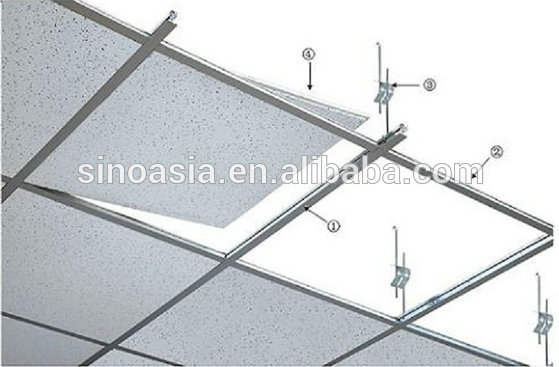 Ceiling T Bar Ceiling T Grid With Galvanized Main Tee