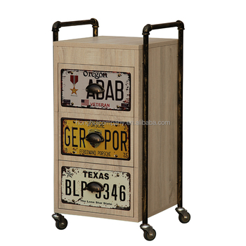 Beauty Salon Trolley Cart Heavy Duty Vintage Especial Design