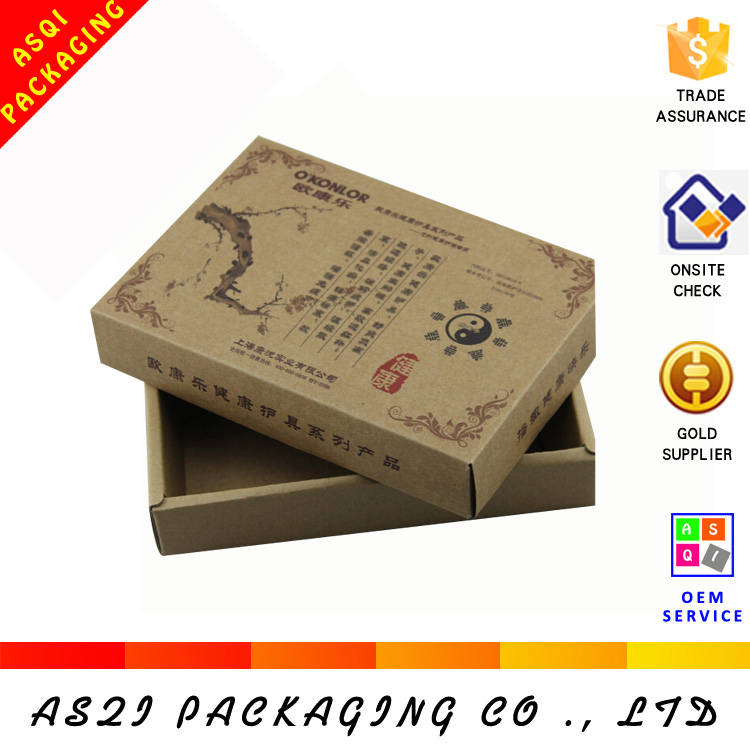 china custom corrugated paper custom printed box sleeves