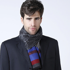 Hot sales Fashionable High quality 100% Silk jacquard woven scarf for men's women's