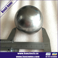 "1.75"" Diameter Ball Tungsten Sphere As A Desk Toy"