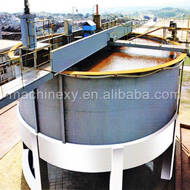 Hot sale gold iron copper graphite mining euqipment tailing thickener price