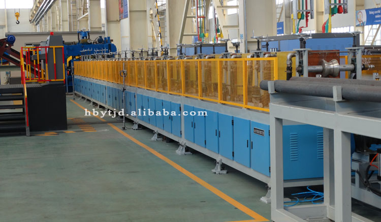 Medium frequency induction heat treatment machine /system