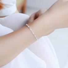 TJP изысканные серебряные браслеты для женщин, вечерние ювелирные изделия, модные овальные шарики, серебро 925, браслеты для девочек, ювелирны...(Китай)