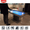 Hot sale lobby interactive multi touch screen kiosk 3G VGA/DVI/HD