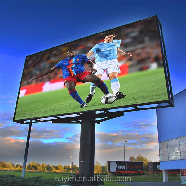 Outdoor mobiele podium reclame board teken full color p6p8p10 led bericht display billboard