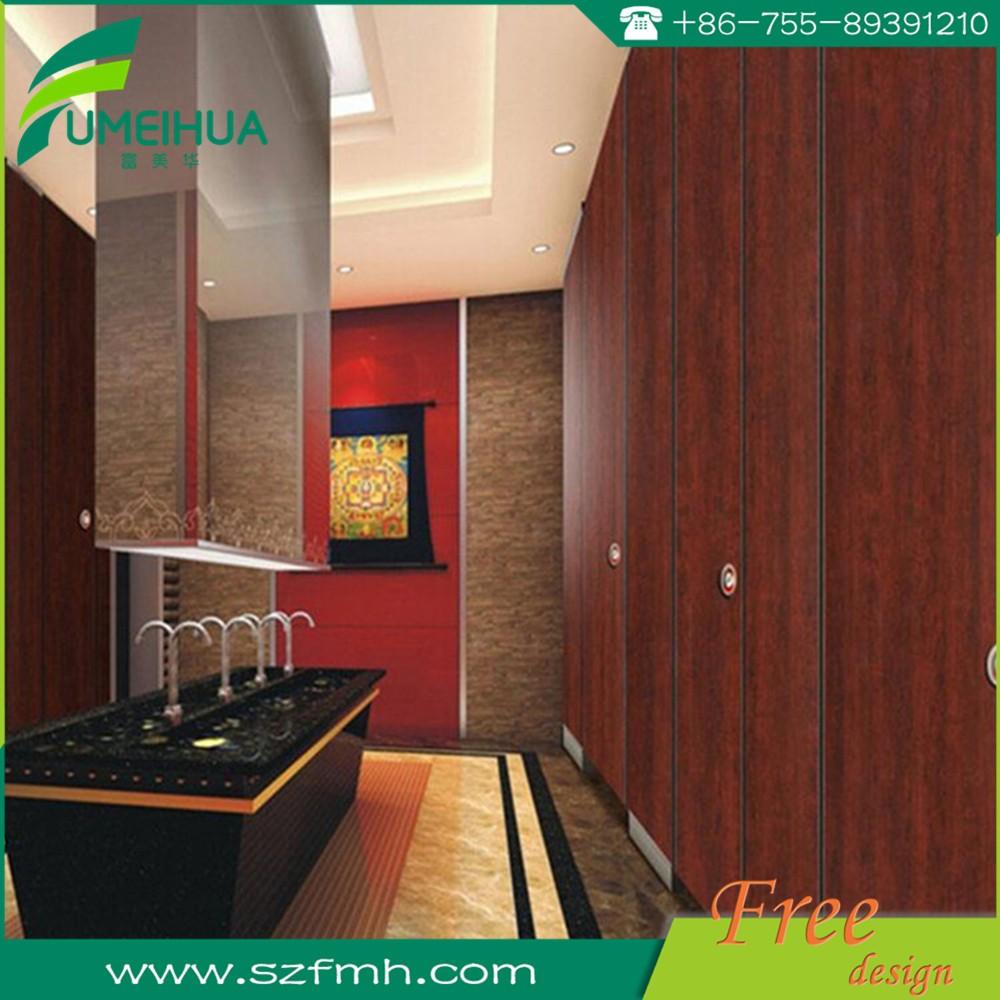 phenolic partition compact laminate toilet door for WC