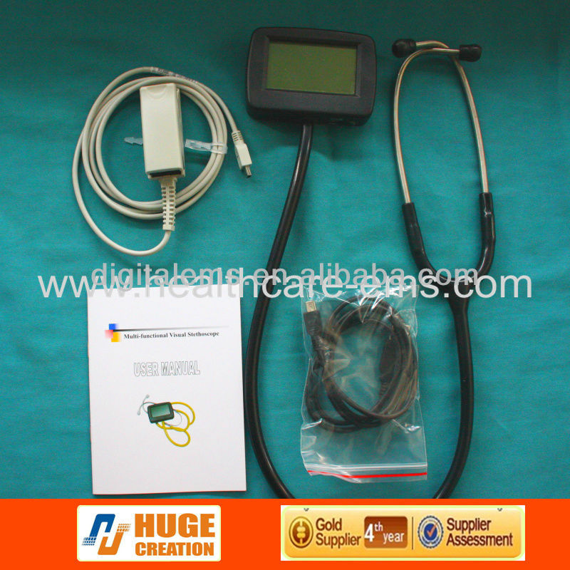 Model no.:CMS-M visual electronic stethoscope