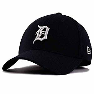 best sneakers 3ec7c 1e438 Get Quotations · Detroit Tigers Home 39THIRTY Flexfit Cap, Blue,  Medium-Large