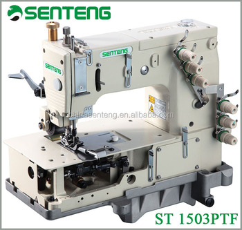 St 1503ptf multi needle sewing machine price servo motor for Industrial servo motor price