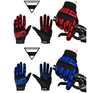 custom breathable anti vibration absorb sweat non-slip fox cycling gloves in sialkot for winter mtb/road bike support fba