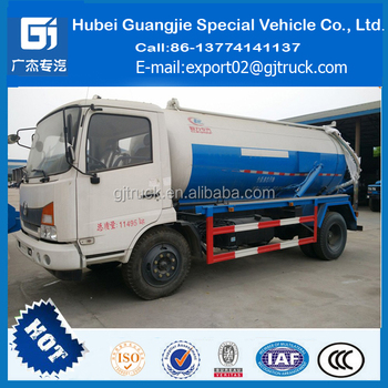 Dongfeng 8m3 8000liter Fecal Suction Tank Truck Septic Truck For Sale - Buy  Sewage Suction Truck,Sewage Suction Tanker Truck,Used Sewage Suction Truck