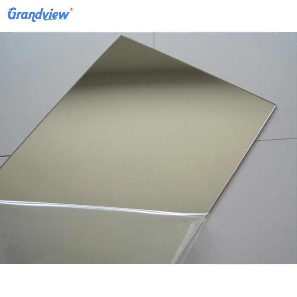 4x8 finish stainless steel acrylic mirror sheet