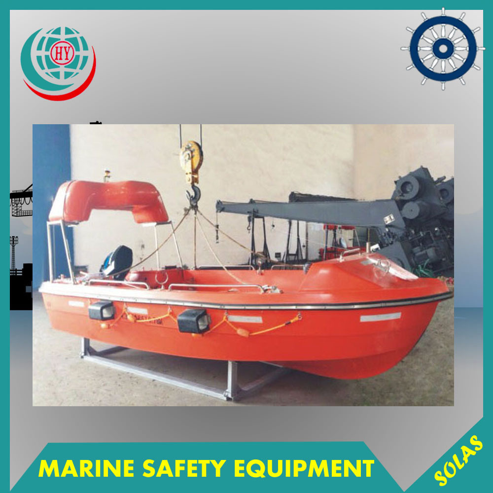 Marine GRP Open Rescue <strong>Boat</strong>, Marine Fiberglass Lifeboat Equipment