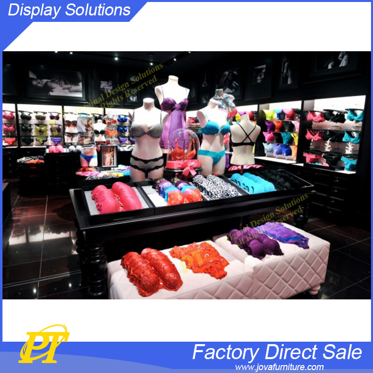 Simple Fashion Lingerie Store Display Furniture