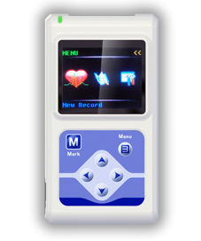 CE/FDA Approved 12 Channel ECG Holter /EKG Holter with LCD Display