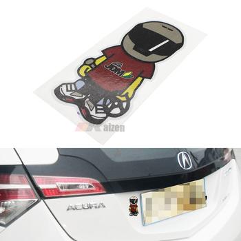 Gaya jepang jdm drift racing boy makan sleep jdm vinyl sticker decal untuk mobil suv