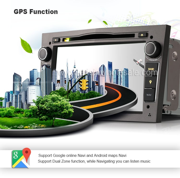 Erisin ES3060P 7 inch Touch Screen Car DVD Player cho Antara Vectra C