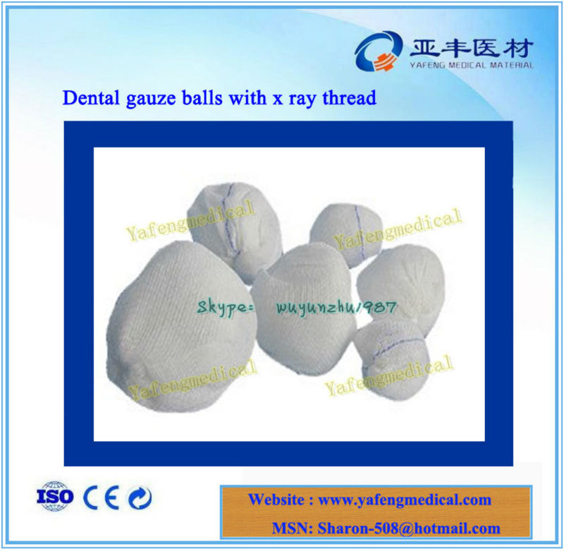 For hospital absorbent cotton balls dressings