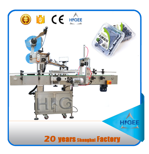 automatic asset tag label tabletop labeling machine