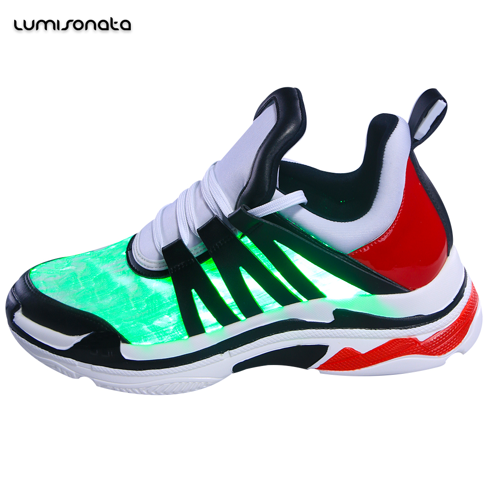 for party club light custom shoes led flashing New up wear wqvYH7088