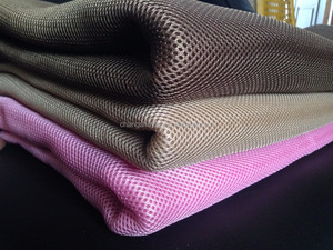sandwich air mesh fabrics 100%polyester mesh fabric 3d spacer mesh fabric