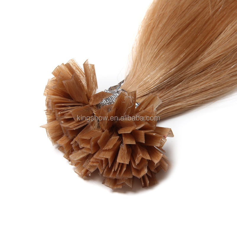 Factory Price Colored Brazilian Hair Remy V Tip Raw Hair Manufacturer