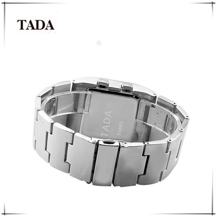 795339820d6 Hot Moda Lava Ferro Militar Relógios Digitais Pulseira de Aço Inoxidável  Dos Homens De Luxo Mens