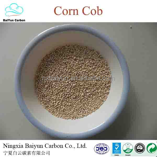 corn cob grits for abrasive and corn cob animal feed